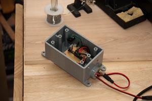 RPi camera prototype: circuit detail
