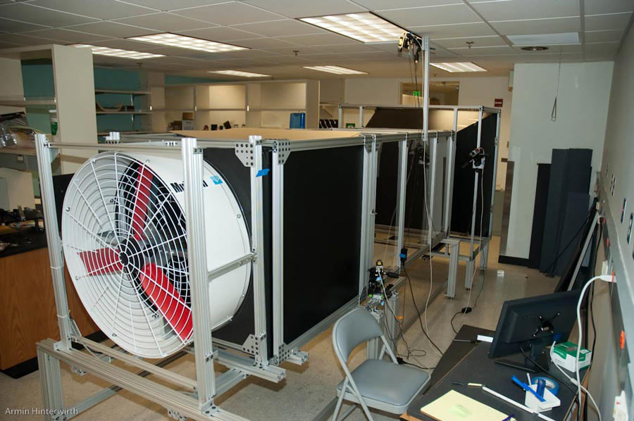 Wind tunnel for insect flight research | Armin's Notebook