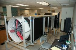 Assembled wind tunnel